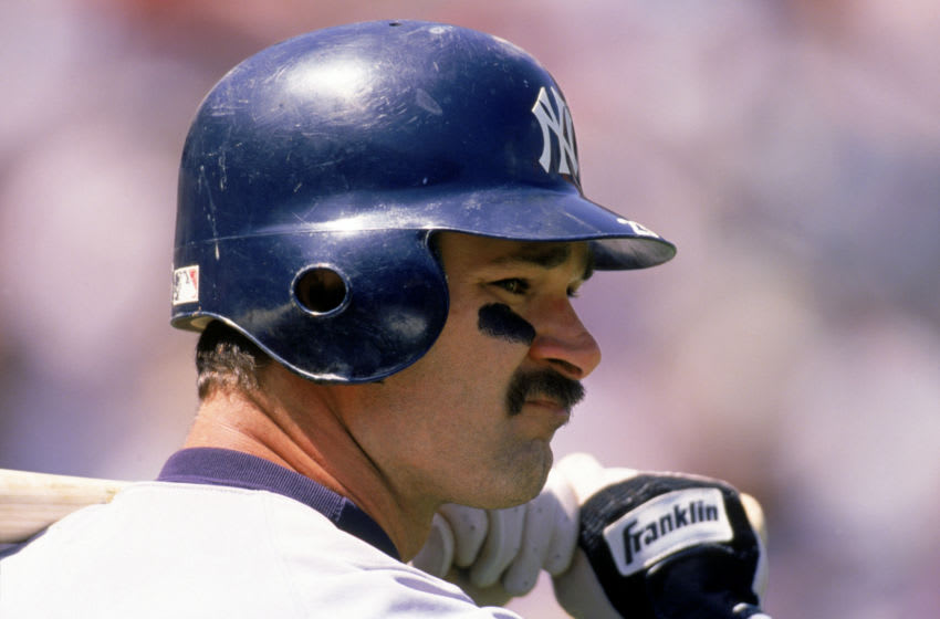 Don Mattingly of the New York Yankees. (Photo by Jeff Carlick/MLB Photos via Getty Images)