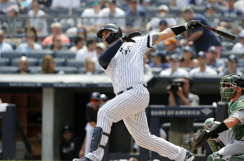 Gary Sanchez #24 of the NY Yankees - (Photo by Jim McIsaac/Getty Images)