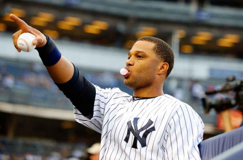 Robinson Cano #24 of the New York Yankees - (Photo by Jim McIsaac/Getty Images)