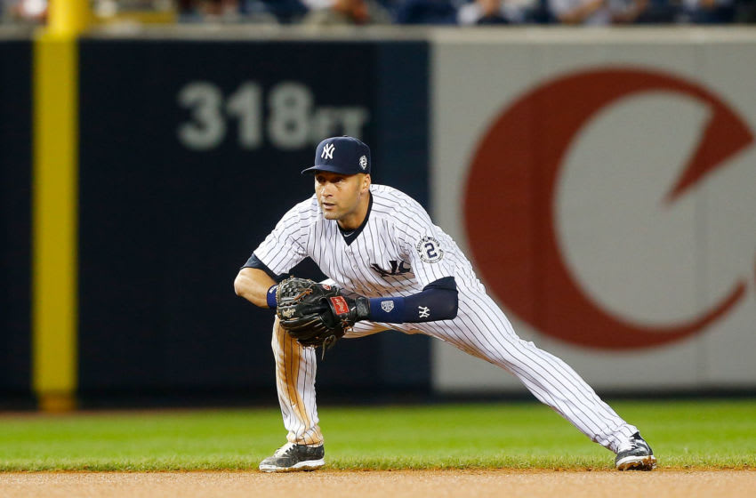 Derek Jeter #2 of the New York Yankees - (Photo by Jim McIsaac/Getty Images)