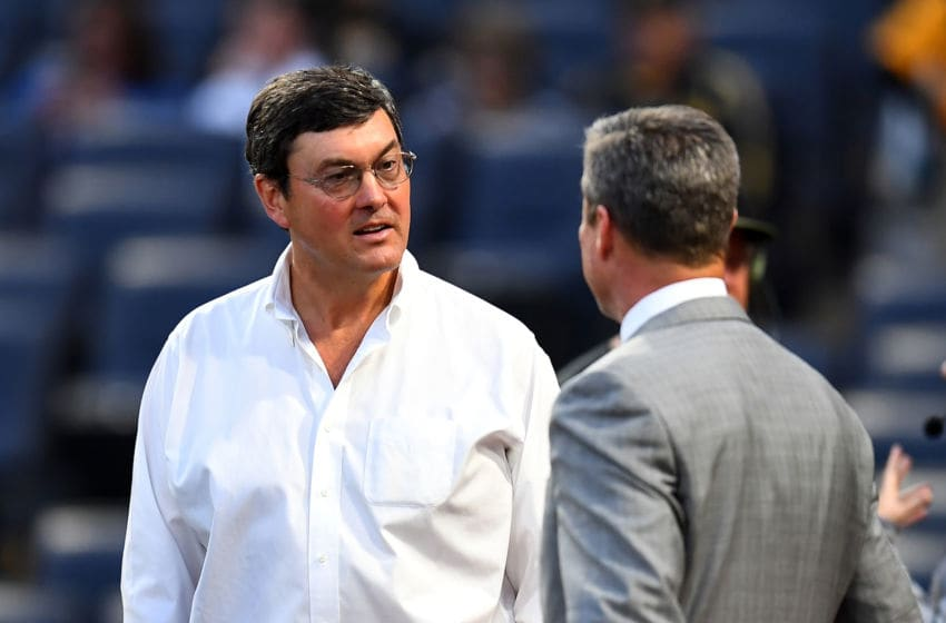 Pittsburgh Pirates owner Bob Nutting, who is bad. (Photo by Joe Sargent/Getty Images)