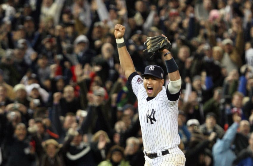 Alex Rodriguez of the New York Yankees (Photo by Jed Jacobsohn/Getty Images)