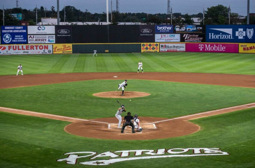 New York Yankees pitcher Corey Kluber pitches in the second inning of Tuesday nightÕs game for the Double-A Somerset Patriots. The Patriots take on the Akron RubberDucks (Cleveland Indians) at 7:05 pm at TD Bank Ballpark in Bridgewater.