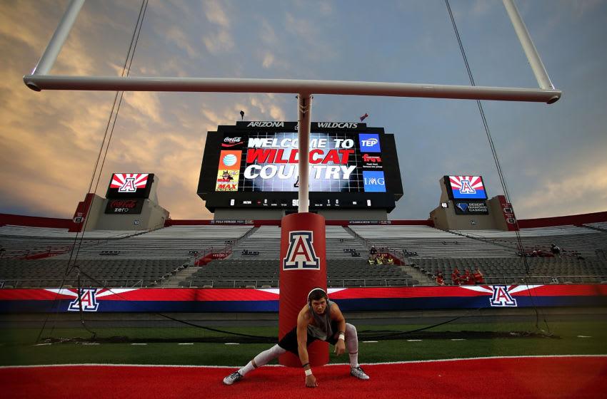 TUCSON, AZ - SEPTEMBER 19: Wide receiver Alex Holmes