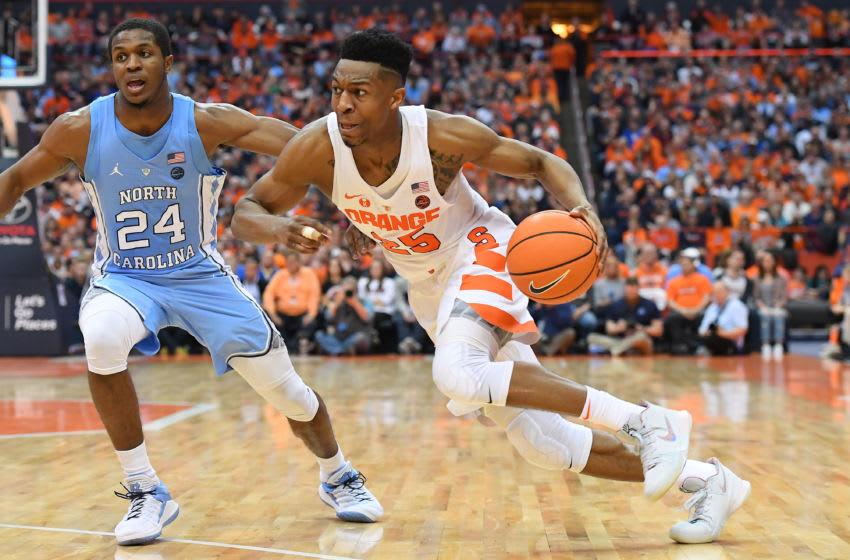 syracuse basketball  unc loss has the orange helpless on