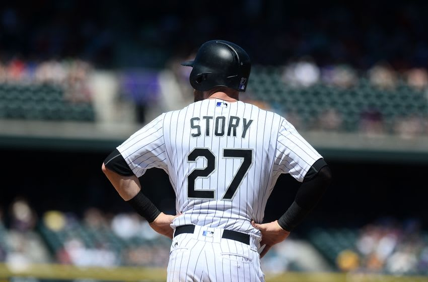 colorado rockies don t forget about trevor story