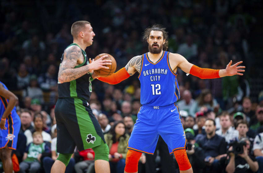 Breaking down 3 Steven Adams trades the Boston Celtics can ...