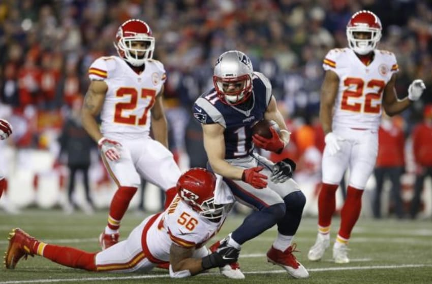 Game Day Photos: Chiefs at Patriots - Divisional Playoffs