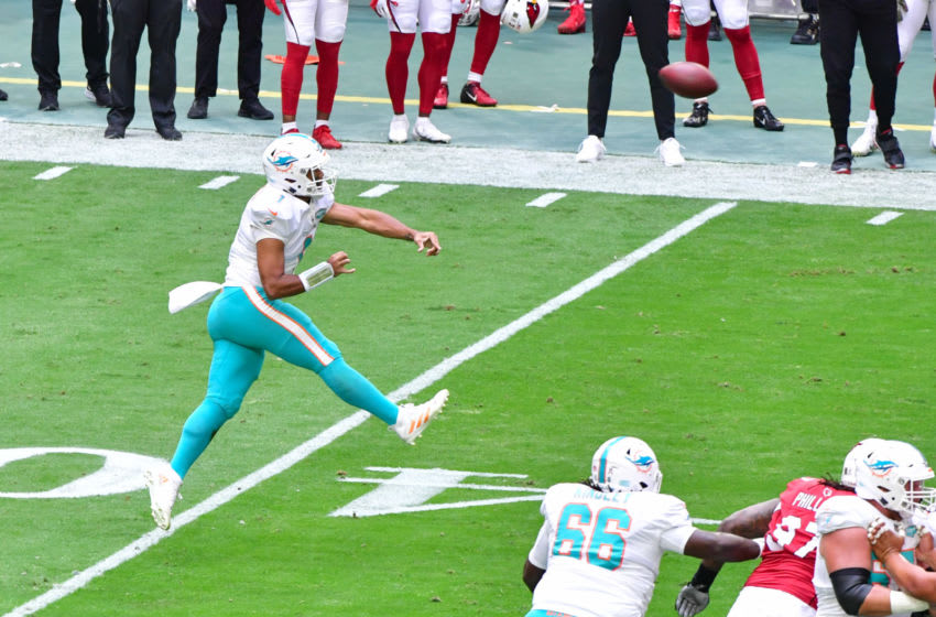 Miami Dolphins win big game on the arms and legs of Tua ...