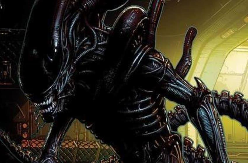 ALIEN cover art by David Finch. Photo: Marvel.