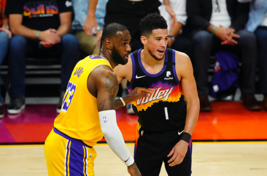 Devin Booker owns history with LeBron James' last game-worn No. 23 Lakers' jersey
