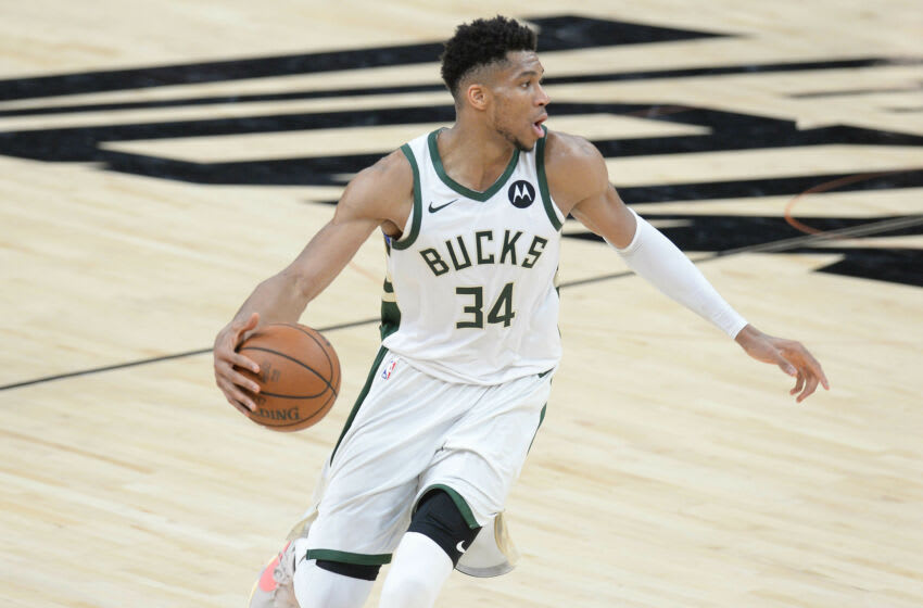 Watch: Giannis channels Marshawn Lynch at NBA Finals press conference