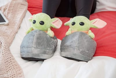 Make others green with envy over these slippers.