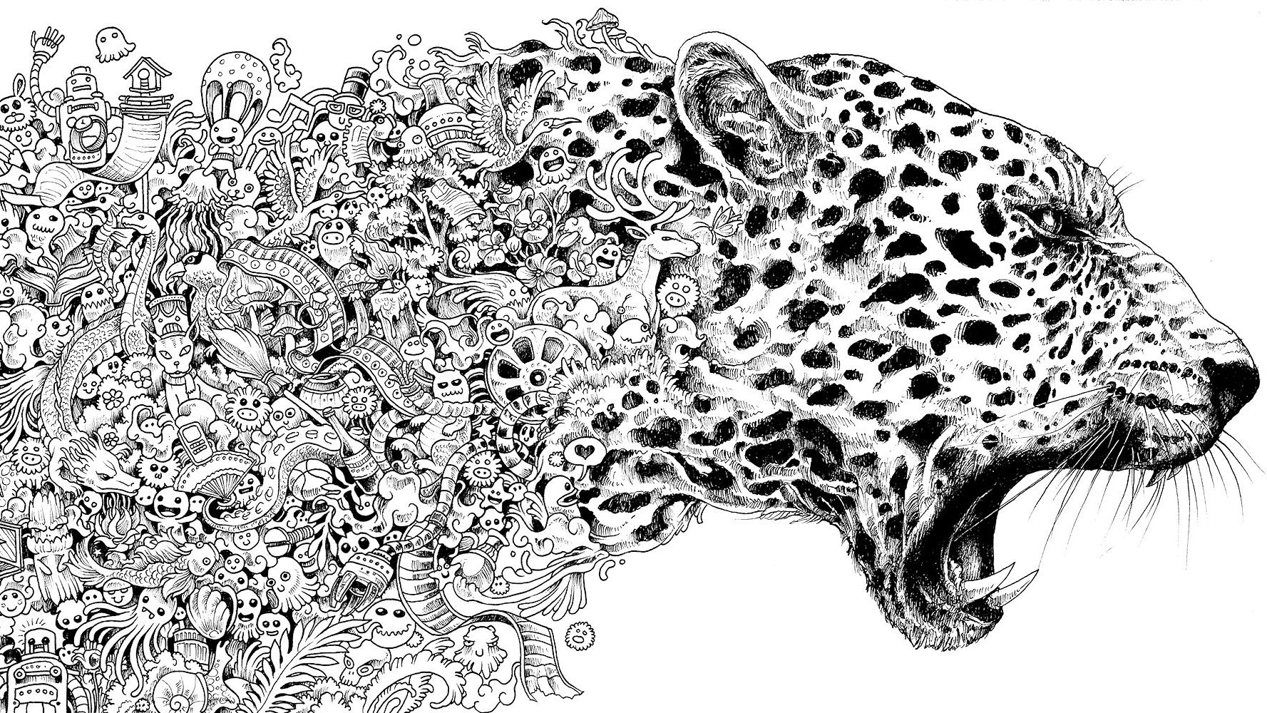 13 Stunningly Beautiful Coloring Books For All Ages Mental Floss
