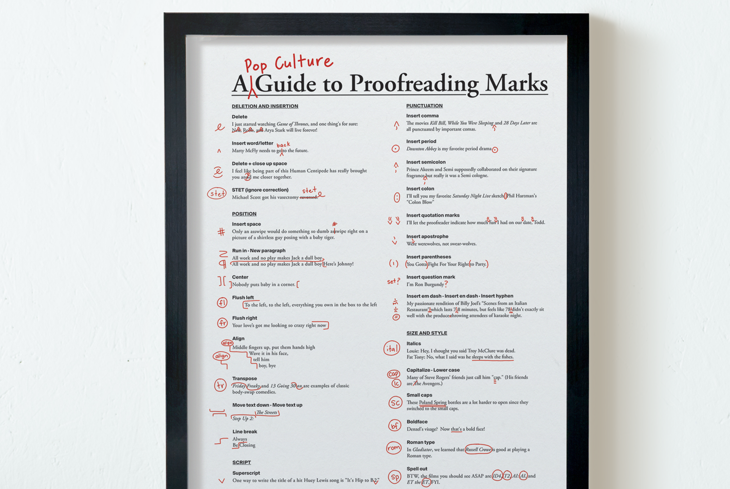 this pop culture guide to proofreading marks will help you write the  this pop culture guide to proofreading marks will help you write the perfect  essay