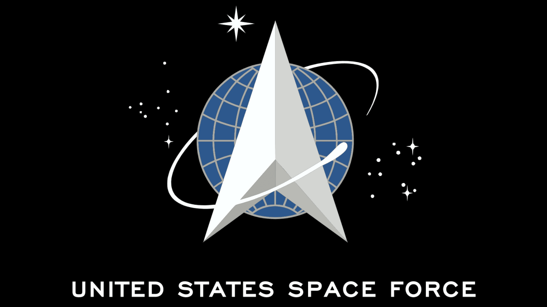 The flag for the United States Space Force.