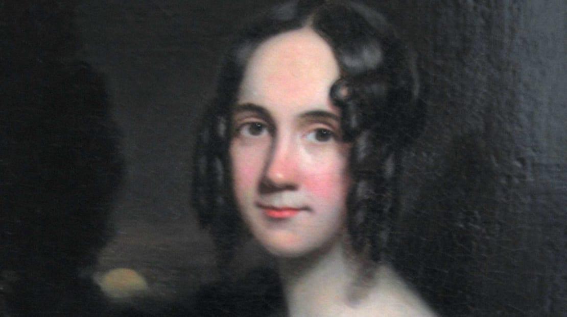 A painting of Sarah Josepha Hale by James Reid Lambdin, circa 1831.