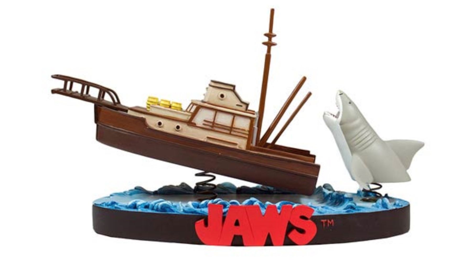 You're Gonna Need a Bigger Shelf for This Jaws Statue