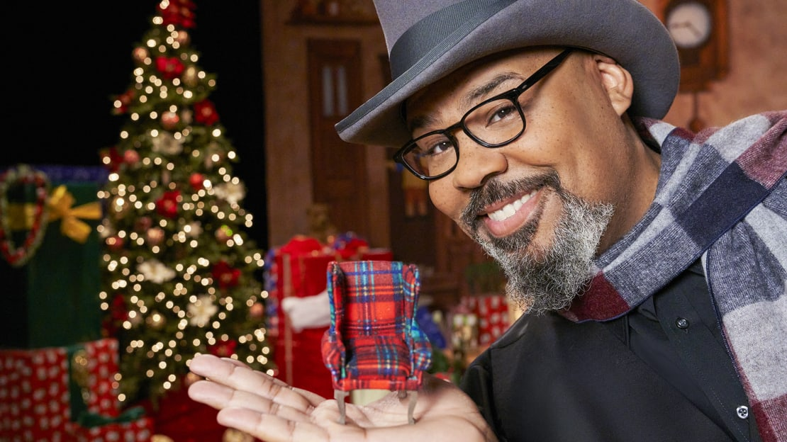 James Monroe Iglehart hosts HGTV's The Biggest Little Christmas Showdown