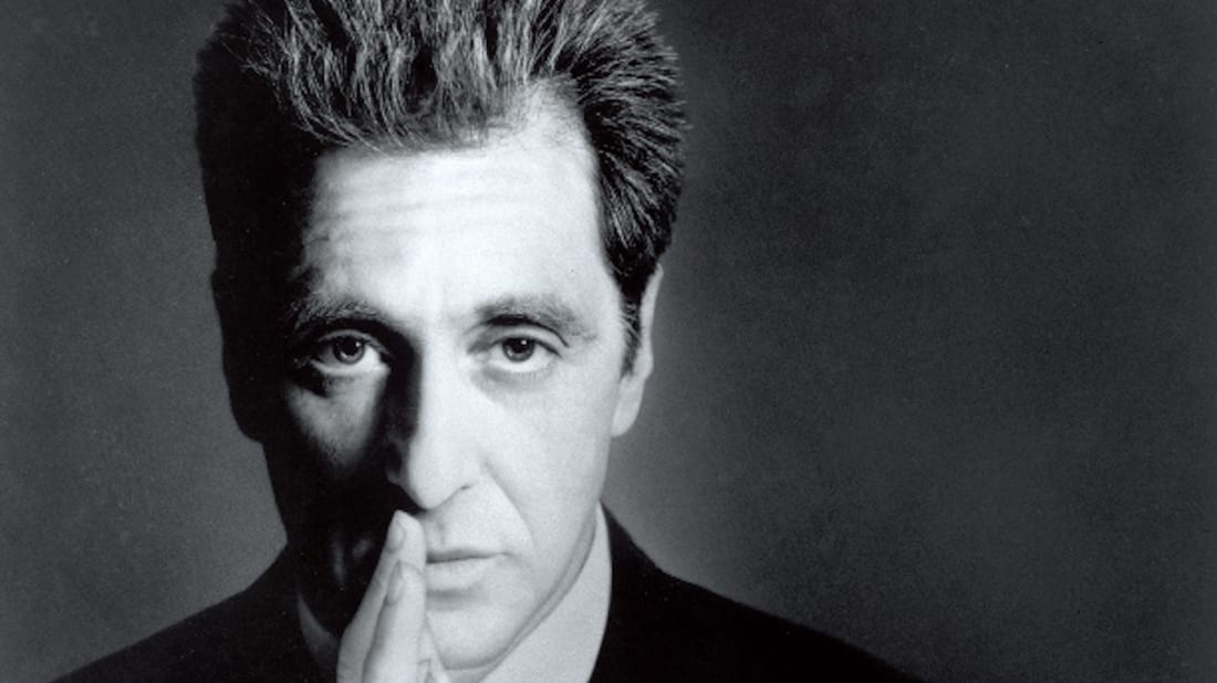 Al Pacino reprises his role as Michael Corleone in The Godfather Part III (1990).