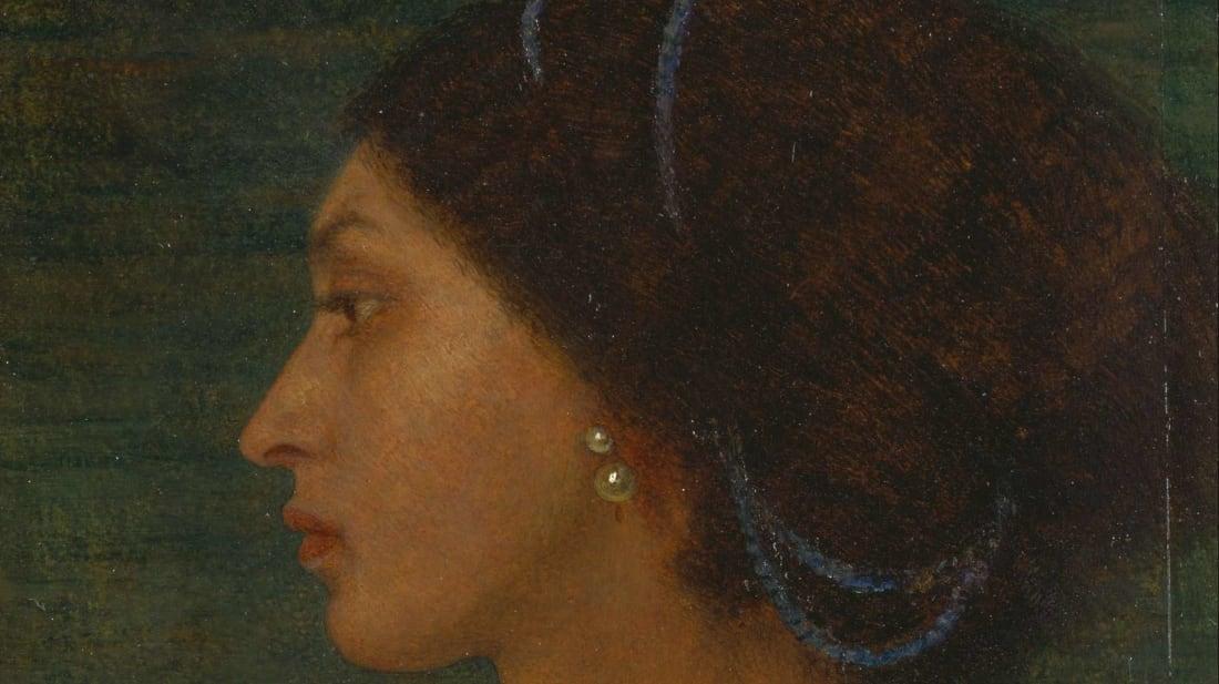 Fanny Eaton, as painted by Joanna Boyce Wells.