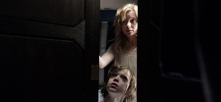 Essie Davis and Noah Wiseman in The Babadook (2014).
