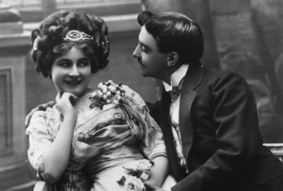 Let's hope these two lovebirds didn't follow any of the dubious sex advice making the rounds during the Victorian era.