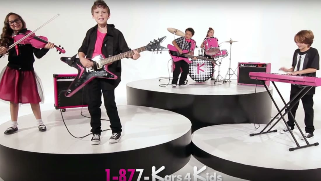 Kars4Kids, YouTube