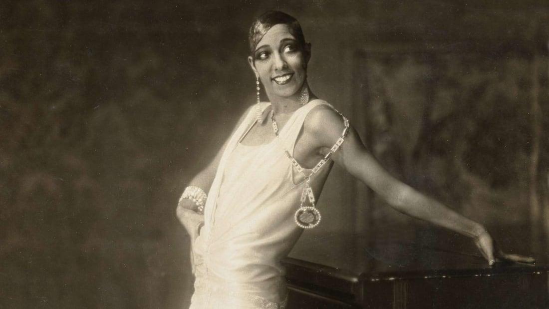 Josephine Baker in Hamburg in 1925.