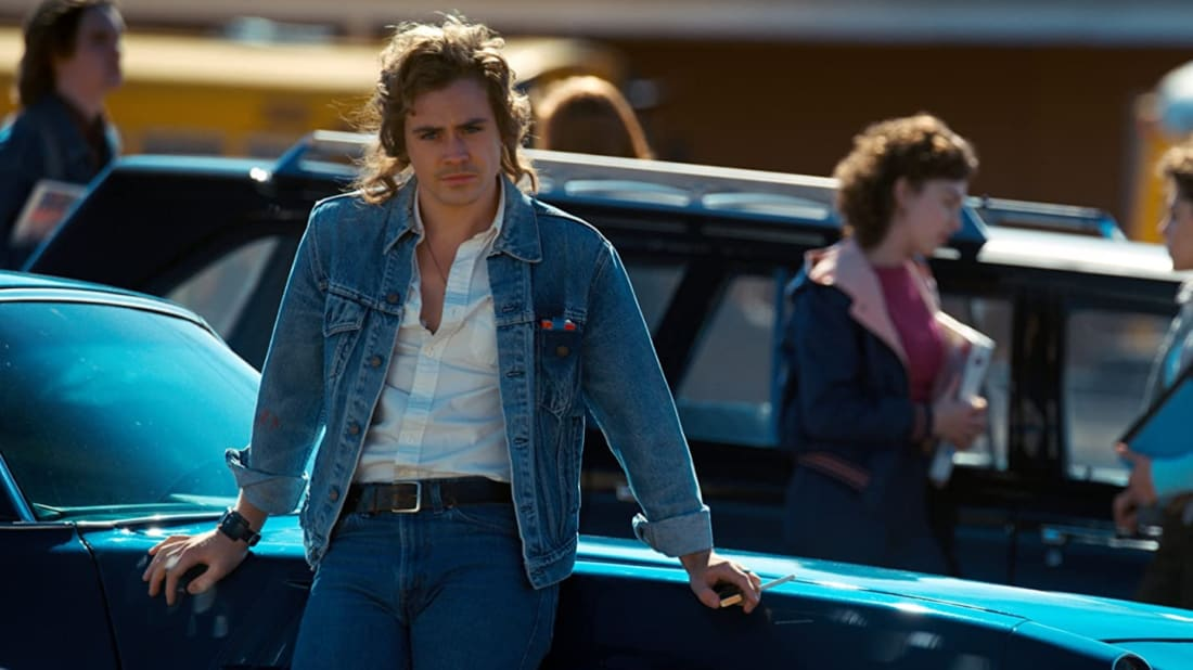 Dacre Montgomery in Stranger Things.