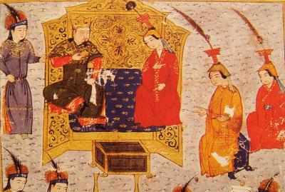 Sorghaghtani Beki, Genghis Khan's daughter-in-law, was a powerful ruler.