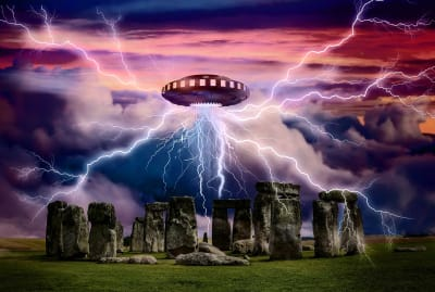 Eerie events plagued Warminster, a town located just 15 miles from Stonehenge.