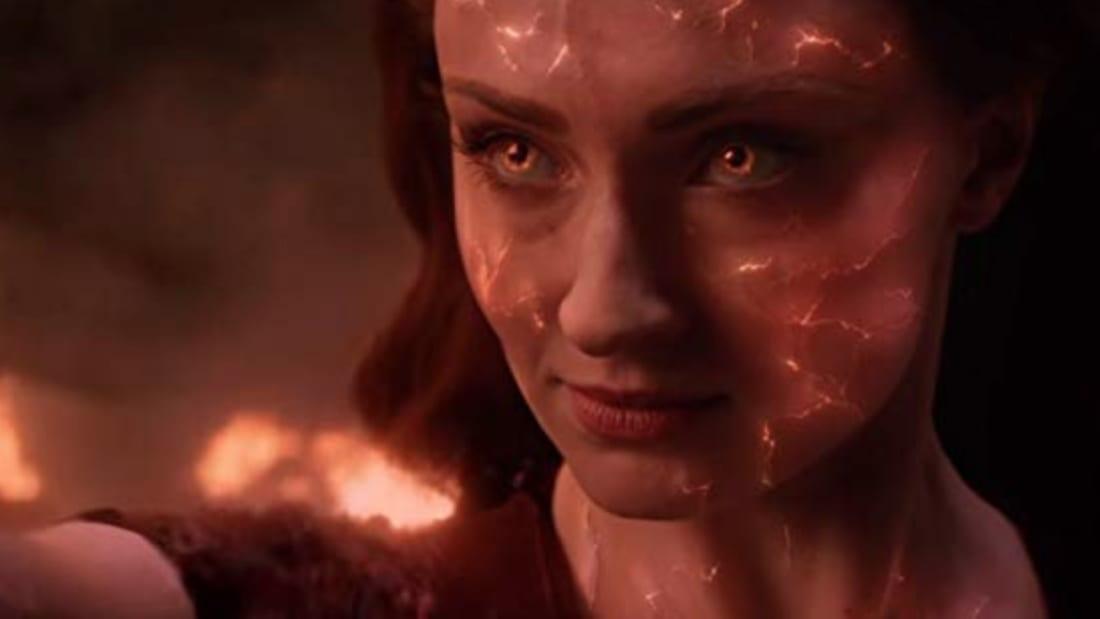 Sophie Turner stars in Dark Phoenix (2018).