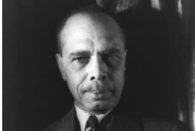 Portrait of James Weldon Johnson