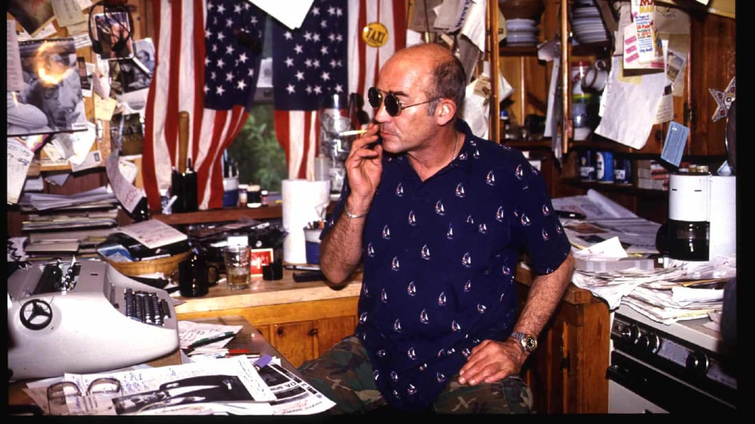 The Rise of the Body Nazis is just one in a long line of doomed Hunter S. Thompson books.