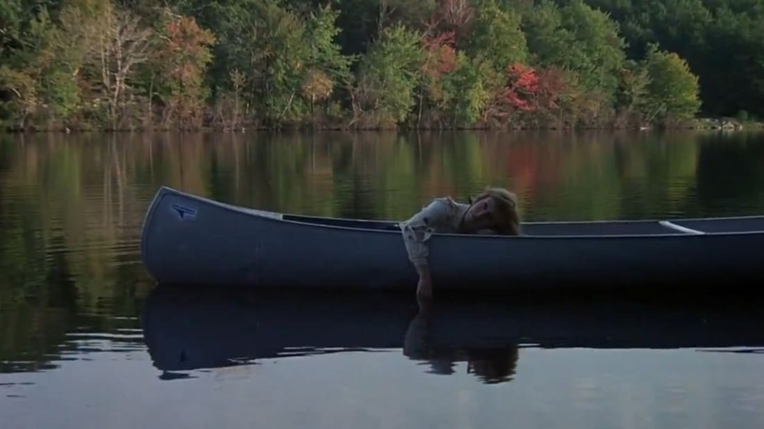 Adrienne King in Friday the 13th (1980).