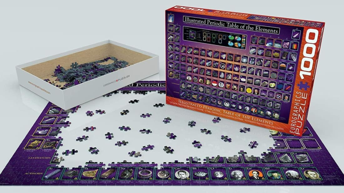 The Illustrated Periodic Table of the Elements Jigsaw Puzzle.