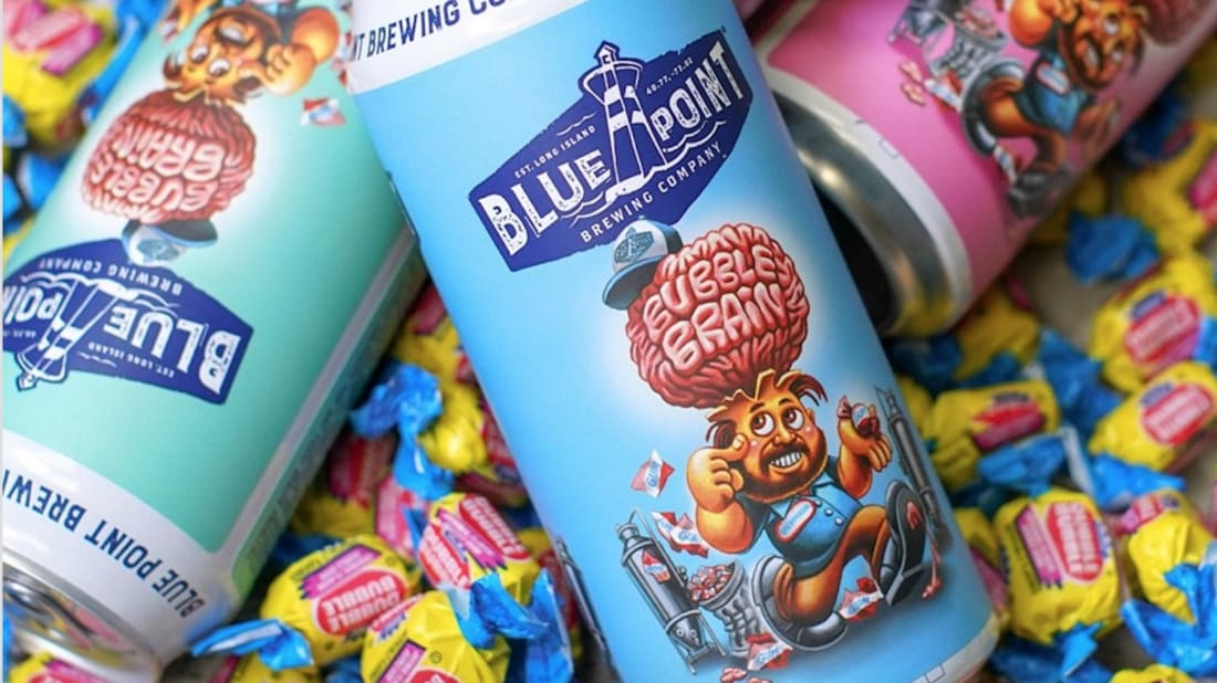 Blue Point Brewing Company's New Bubble Gum Beer Has a Garbage Pail Kids Twist
