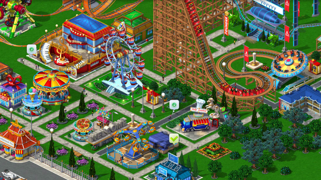 7 Fast Facts About RollerCoaster Tycoon