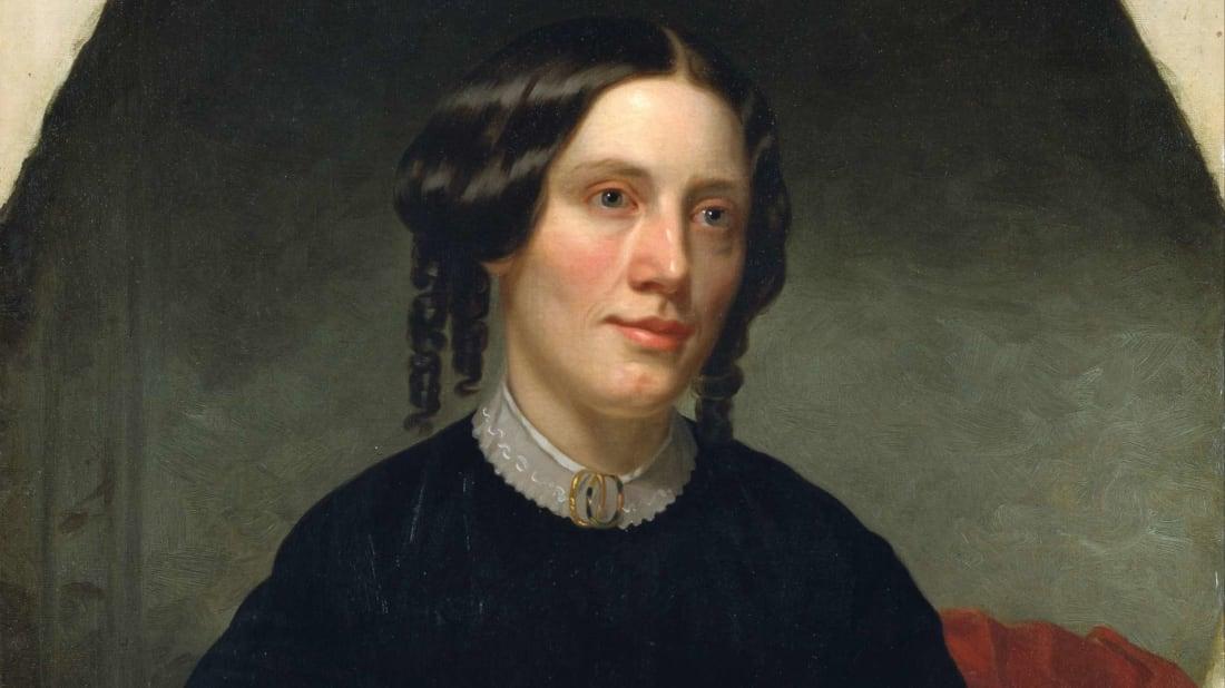 Uncle Tom's Cabin author Harriet Beecher Stowe