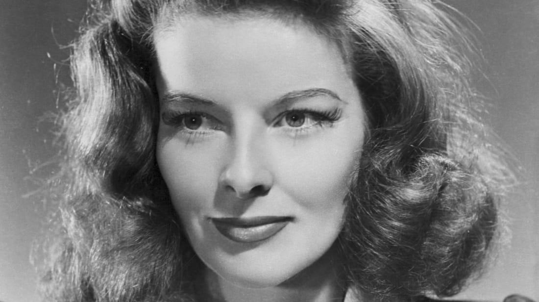 A publicity still of Katharine Hepburn circa 1941.