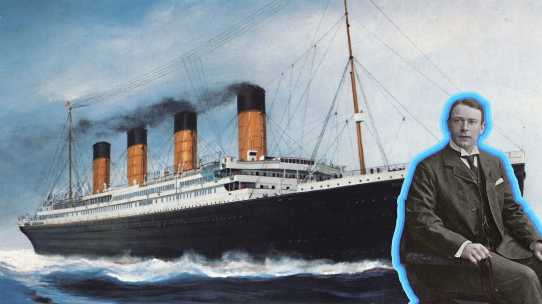 When the Titanic sank in April 1912, its architect, Thomas Andrews, went down with it.