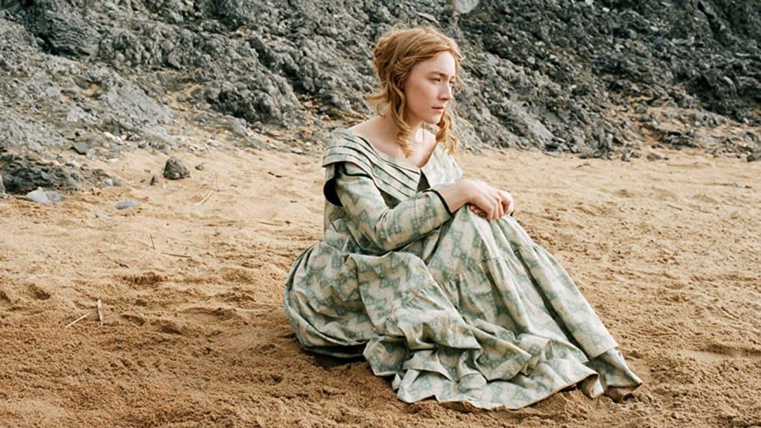 Saoirse Ronan in Ammonite (2020).