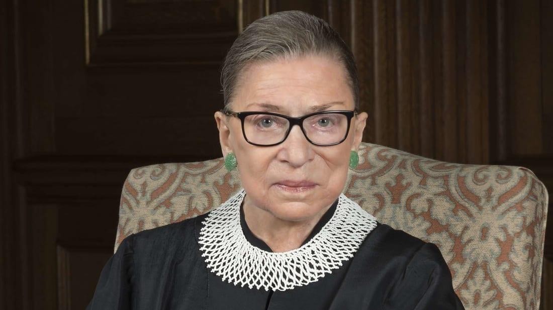 Ruth Bader Ginsburg in 2016.