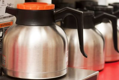 If you're looking for a caffeine fix, you know that orange pot isn't going to help.