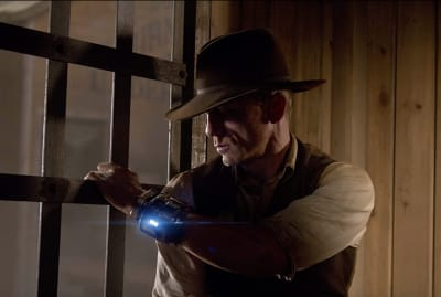 Daniel Craig stars in the utterly forgettable Cowboys & Aliens (2011).