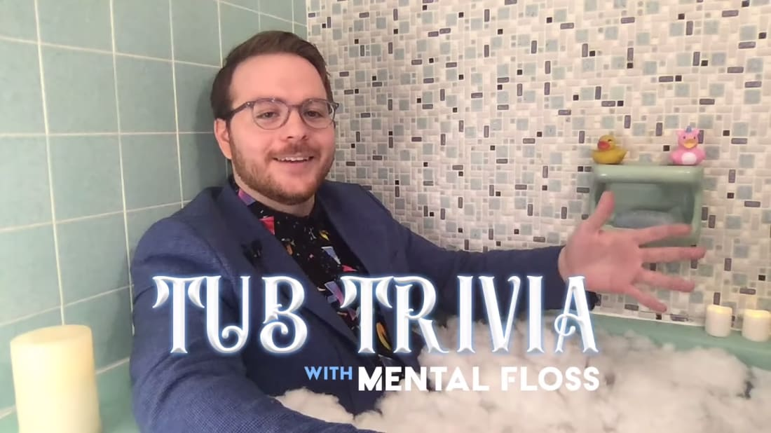 It's about as close to pub trivia as you can get.