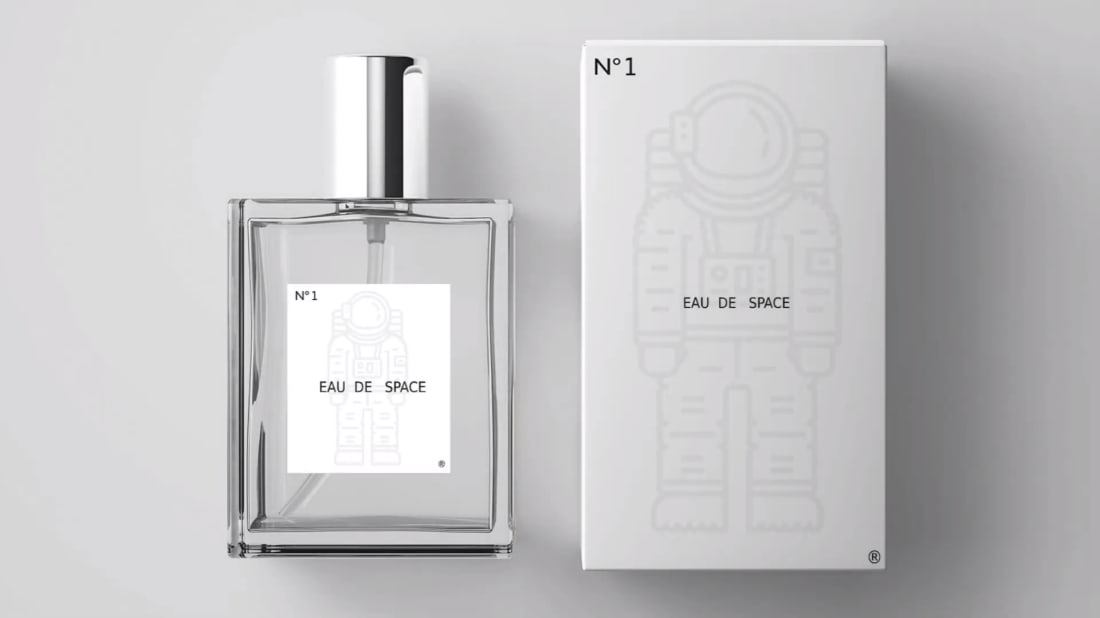 One small scent for man.