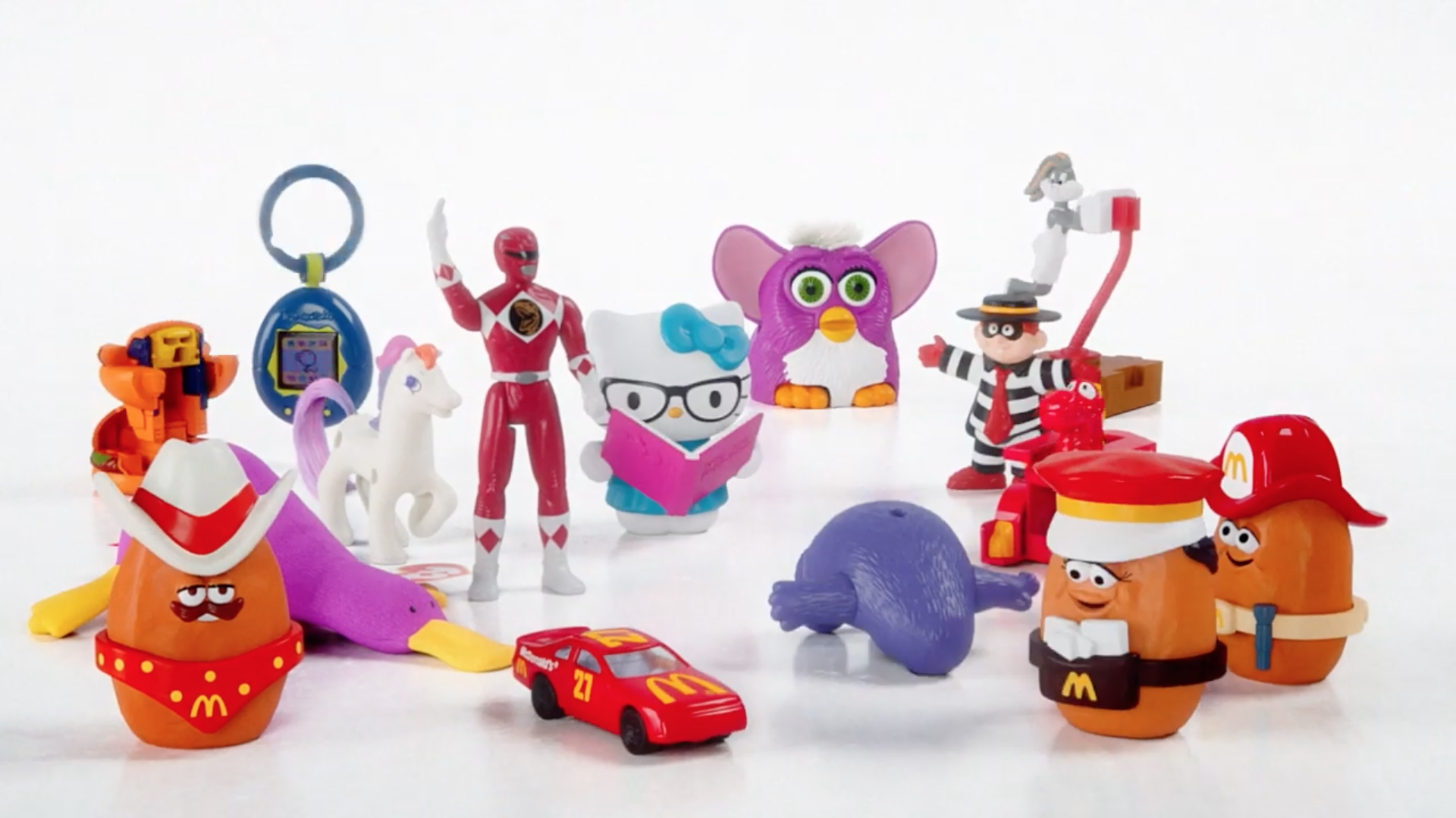 We're Lovin' It: McDonald's Is Bringing Back Retro '90s Happy Meal Toys
