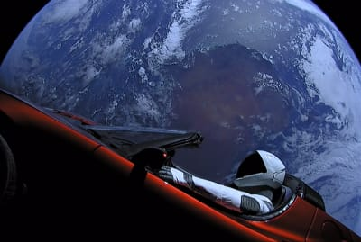 There's a Starman waiting in the sky.